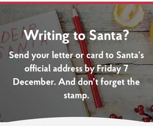 Free Personalised response from Santa @ Royal Mail / Post Office