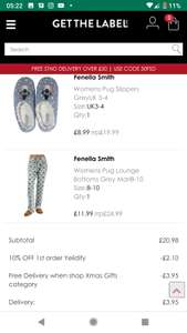 Fenella Smith Pug Items on Sale plus 10% off and free delivery at Get The Label