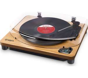 Ion Air Belt Drive Bluetooth Turntable in Wood finish £71.99 with code at Currys