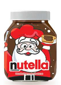 Nutella 750g jar £3.20 at Asda