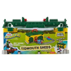 Thomas Friends Adventures Tidmouth Sheds Portable Set - £10 (Was £20) @ Tesco (Free C&C Available on Select Dates/Times / £4 Home Delivery)