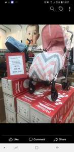 Mothercare Coatbridge Deals e.g Mybabiie pushchair £60 was £89.99 - more in op