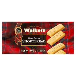 Walkers pure butter shortbread160g - 25% off at waitrose - £1.16