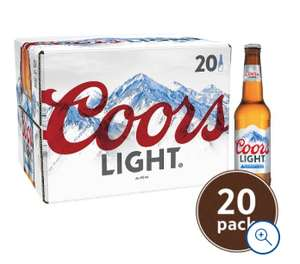 Coors Light 20 X 330Ml £10 @ Tesco