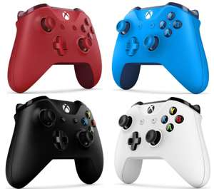 Xbox One Wireless Controller Blue / Red / Black / Crete White £31.32 with code Free delivery @ ShopTo_Outlet eBay