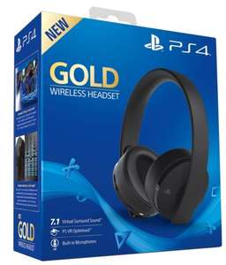 PS4 Gold Headset for £42.37 @ shopto on eBay with code