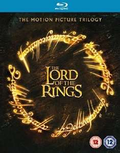 The Lord of the Rings Motion Picture Trilogy Theatrical Version 3 Disc Blu-ray Used Very Good Condition £4.13 delivered@ worldofbooks08 ebay