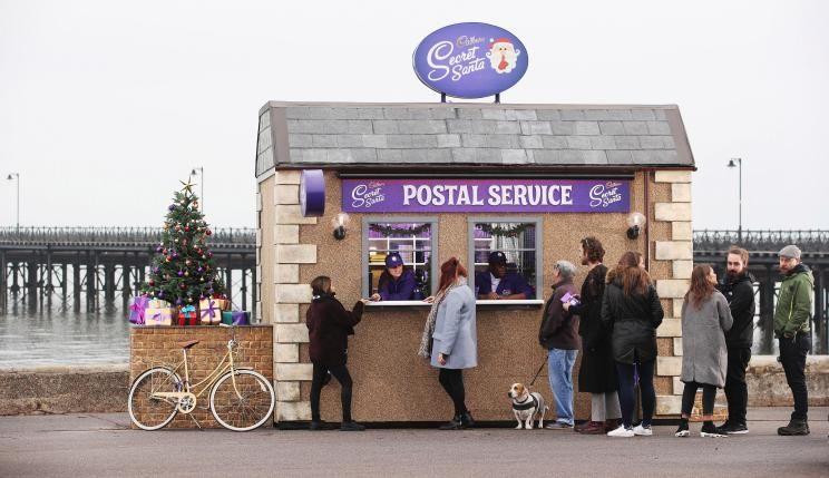 Free Cadbury Chocolate as secret Santa - Cadbury's Pop-Up Stores (Locations in Post)