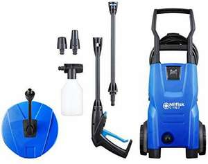 Nilfisk C 110 bar Pressure Washer with Patio Cleaner - £85 @ Amazon