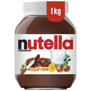 Deal of the Day: 2 x 1kg Nutella £7.39 Delivered (£4.49 Delivery for Non-prime) @ Amazon