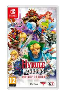 Hyrule Warriors: Definitive Edition (Nintendo Switch) £31.85 @ SimplyGames