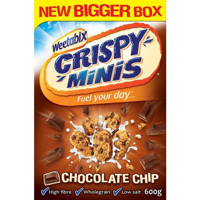 Weetabix Crispy Minis 600g Chocolate Chip £1.39 Poundstretcher