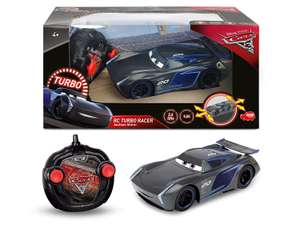 CARS 3 Jackson Storm Turbo Racer 1:24 Remote Control Car £13.41 / Lightning Mcqueen £14.99 delivered w/code @ Amazon