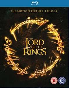 The Lord of the Rings Trilogy Blu Ray Used £5.75 delivered @ Music Magpie
