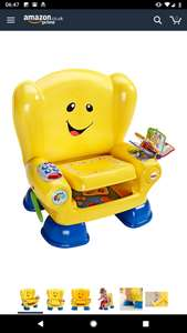 Fisher Price Smart Stages Chair Yellow - Amazon £20.82