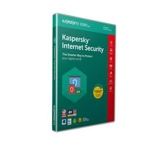 Kaspersky Internet Security 2019 | 5 Devices | 1 Year | PC/Mac/Android £19.98 prime /  £22.97 non prime @ Amazon - free del with code