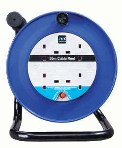 30 Metres Masterplug 4 Socket Thermal Cut-Out Open Cable Reel - £19 @ Wickes (Free C&C)