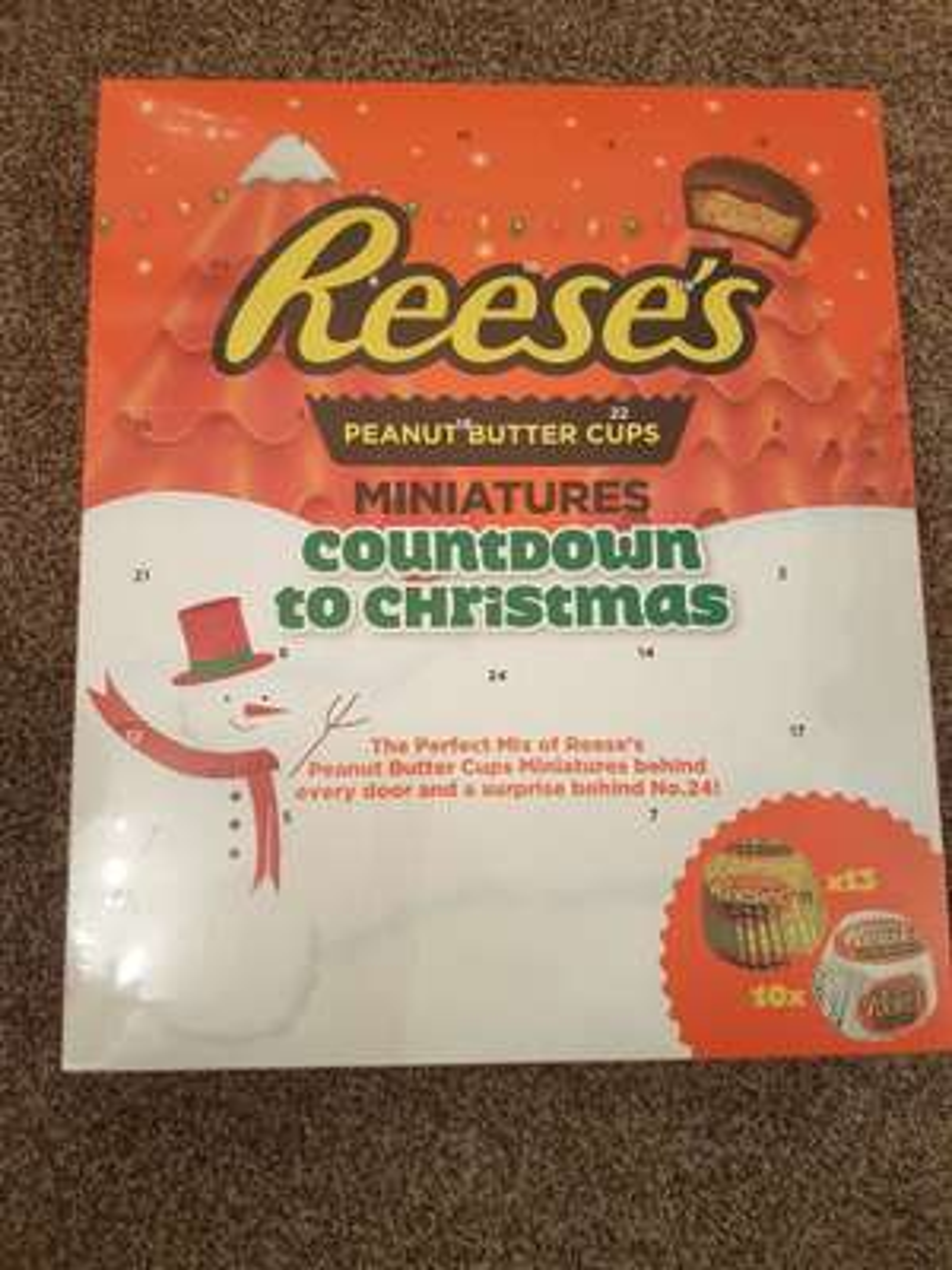Reeses Advent Calendar £2.49 @ Home Bargains