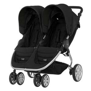 Britax b agile double pushchair £249 + £64.90 in points with parenting club at Boots