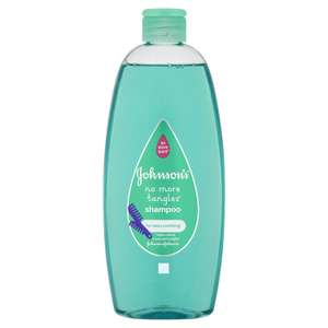 Johnson's No more Tangles Baby Shampoo 500ml £1.50  [add on item] can order up to 8 bottles + subscribe/save 5%/15% extra off @ Amazon