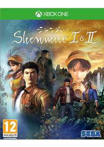 Shenmue I & II Xbox One with Poster + Reversible Cover £16.85 delivered @ Simply Games