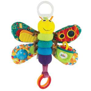 Lamaze Freddie The Firefly - Clip On Pram and Pushchair Newborn Baby Toy - Suitable from Birth @ Amazon £8.99