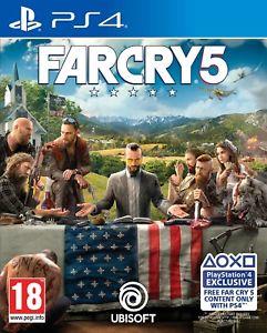 Far Cry 5 PS4/Xbox, £19.42 at Shopto/ebay