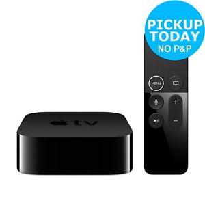 Apple TV 32GB - 4K - £3.95 Postage or Click Collect Argos eBay PRESENTS