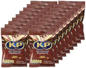 KP Dry Roasted Peanuts, 80 g, Pack of 18 @ Amazon Warehouse Described As New