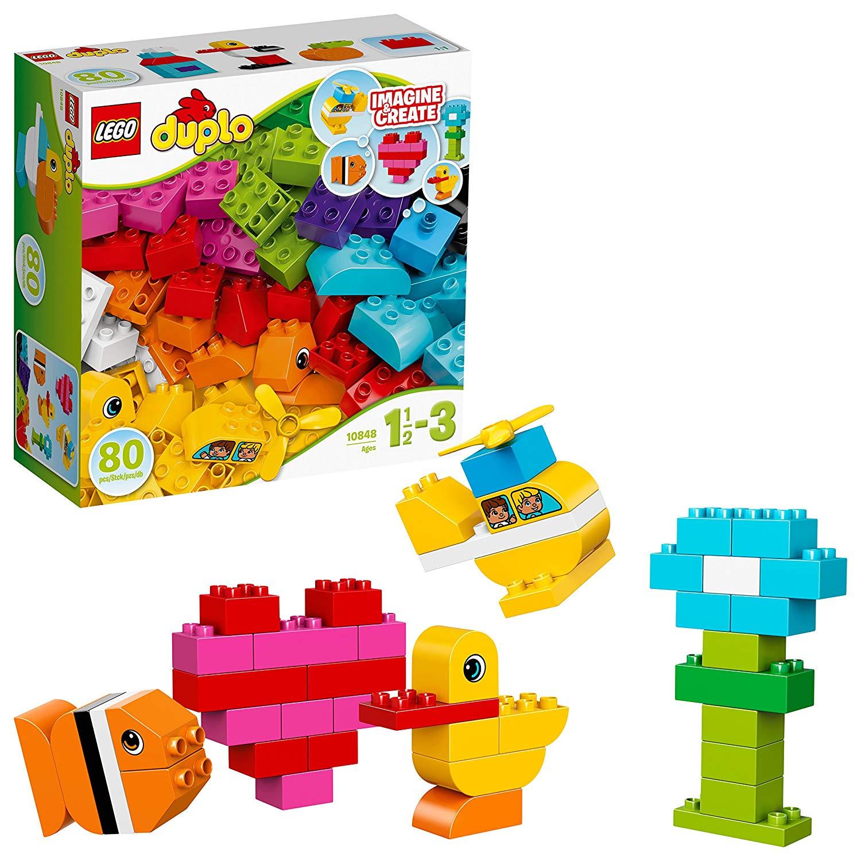 LEGO DUPLO 10848 My First Bricks Building Set was £17.99 now £13.99 @ Amazon Prime