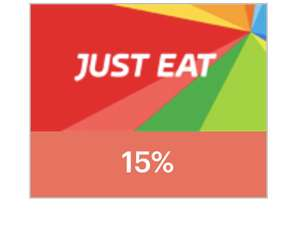 JUST EAT 15% student discount