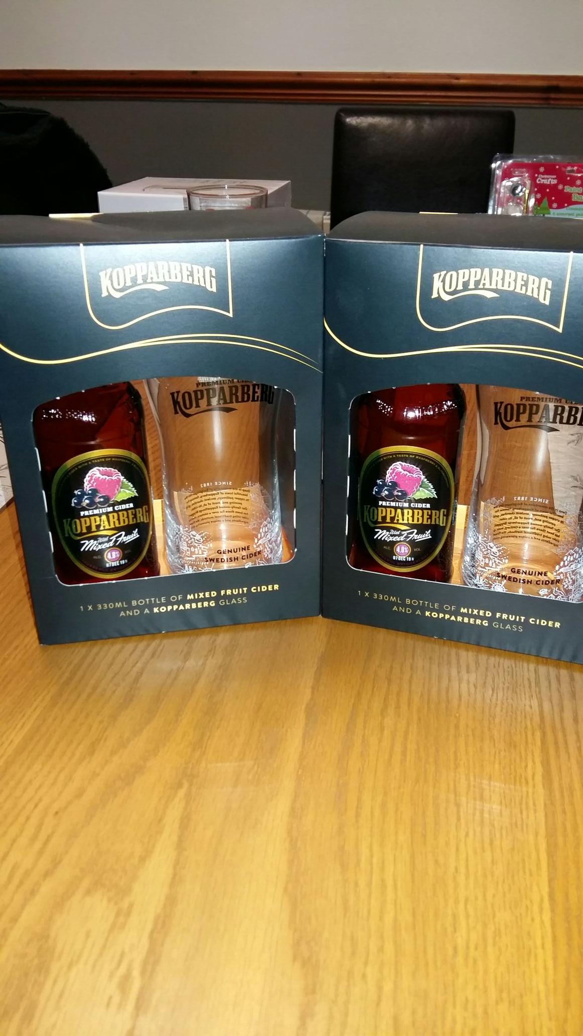 Kopparberg Gift Set - Morrisons £5