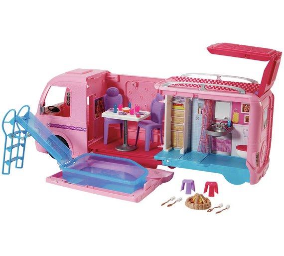Barbie dream camper van at Argos for £57.99