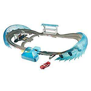 Disney Pixar Cars 3 Ultimate Florida Speedway Track Set with Lightning McQueen Toy Car rrp £99.99 now £64.99