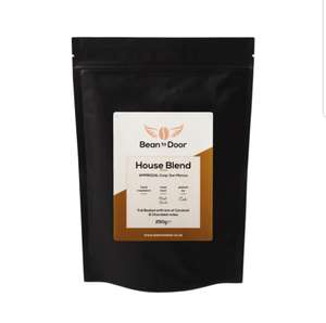 250g bag of Freshly Roasted House Blend coffee for £1 delivered @ Beantodoor