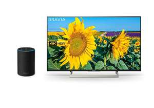 Sony Bravia KD49XF8096 49-Inch Android 4K HDR Ultra HD TV with Voice Remote/YouView and Freeview HD, Black All-New Amazon Echo £649 @ Amazon
