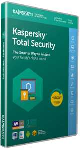 Kaspersky Total Security 2019 | 10 Devices | 1 Year | PC/Mac/Android | Activation Code by Post £16.99 @ Amazon ( DOTD)