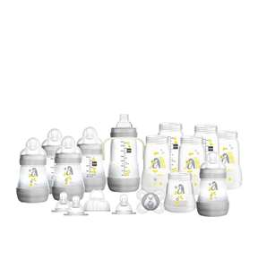 MAM Easy Start Anti-Colic Bottle Starter Set, Grey, Large £24.60 @ Amazon