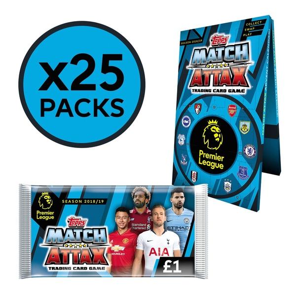 Match Attax 2018/2019 Advent Calendar was £20.00 now £10.00 @ Smyths Free C+C