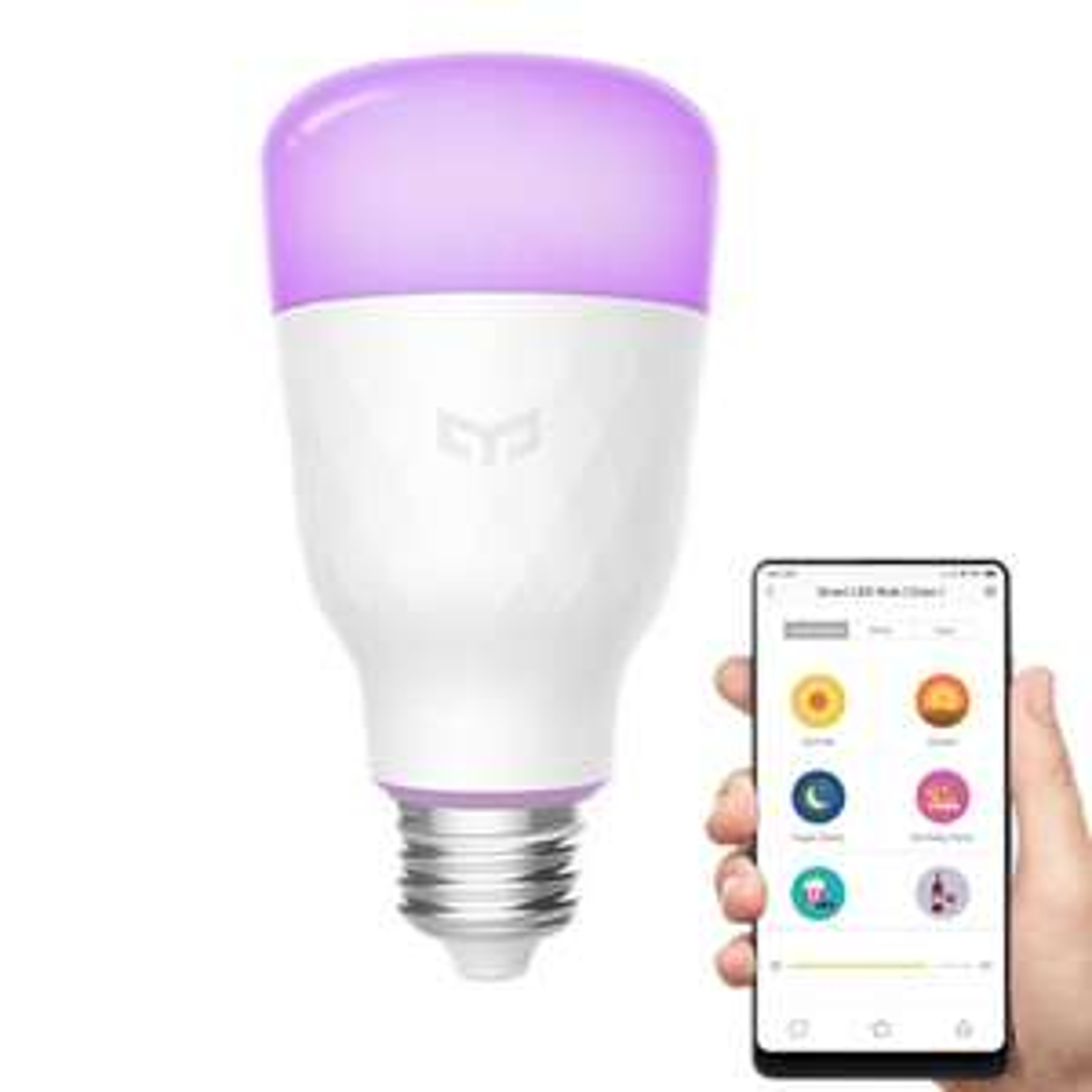 Xiaomi Yeelight YLDP06YL E26 E27 10W RGBW Smart LED Bulb Wifi App Control AC100-240V - E27 £12.57 @banggood