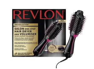 REVLON Pro Collection Salon One Step Hair Dryer and Volumiser RRP £59.99 now £29.99 delivered at Amazon