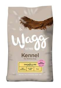 Wagg Chicken and Veg Kennel Complete Dog Food, 15 kg RRP £13.50 now £8.59 delivered with code FREEDELIVERY