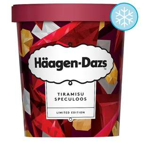 Häagen-Dazs Ice Cream Tiramisu Speculoos 460Ml - £3.00 (Was £4.20) @ Tesco