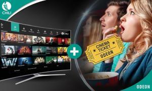 Groupon deal: Cinema ticket at ODEON plus £10 worth of Chili credit - £5.99 @ Groupon