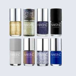 Night Out Collection with 8 x full size nail polishes + free special effect glitter polish £18 / £2 each polish delivered w/code @ Nails Inc
