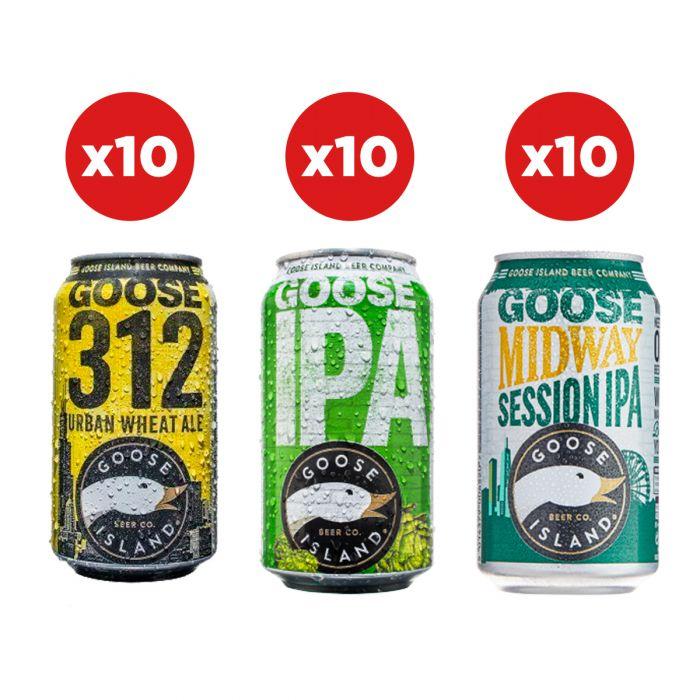 Goose Island Party Pack (30 Beers) £30 / £34.99 delivered @ Beerhawk