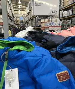 Asics Onitsuka Tiger Down Jacket 2 Colours £17.96 Costco instore