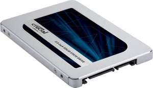 Crucial MX500 2TB @ Amazon UK - 30% faster than MX300 deal