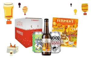 box of 10 craft beers from Beer52 for £5.95 @ Beer52