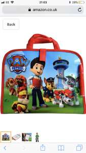 Paw Patrol Aquadoodle travel bag £8.99  Prime (Free Delivery Non Prime with code FREEDELIVERY) @ Amazon